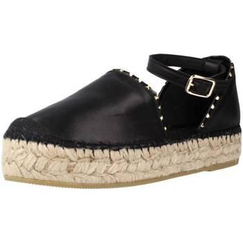 Schoenen Dames Espadrilles Vidorreta 06833NAMD Zwart