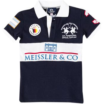Textiel Jongens Polo's korte mouwen La Martina Polo à manches courtes Multicolour