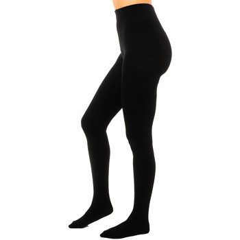 Ondergoed Dames Panty's/Kousen DIM Justaucorps thermique Zwart