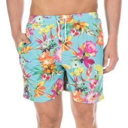 Textiel Heren Zwembroeken/ Zwemshorts Hackett Maillot de bain  Bermuda Multicolour