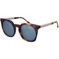 Horloges & Sieraden Dames Zonnebrillen Karl Lagerfeld Lunettes de soleil Karl Lagerfeld Brown