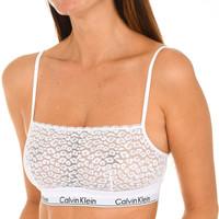 Ondergoed Dames Modern Bralette Calvin Klein Jeans Soutien-gorge Calvin Klein Wit