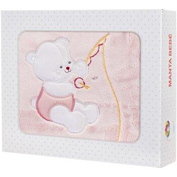 Wonen Kinderen Plaids, deken Le Petit Garçon Couverture bébé Roze