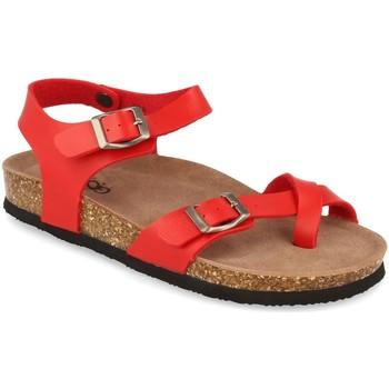 Schoenen Dames Sandalen / Open schoenen Woman Key D18-19 Rojo