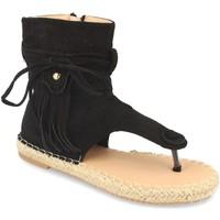 Schoenen Dames Sandalen / Open schoenen Woman Key MT-58 Negro