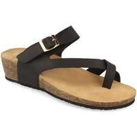 Schoenen Dames Sandalen / Open schoenen Woman Key R9002 Negro