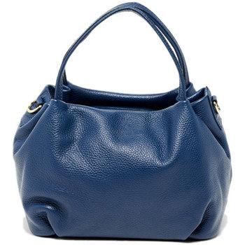 Tassen Dames Handtassen kort hengsel Victor & Hugo MAO BLEU MARINE