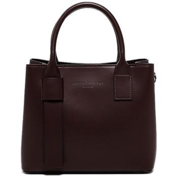 Tassen Dames Handtassen kort hengsel Maison Heritage MINI FARA BORDEAUX