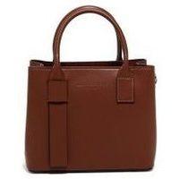Tassen Dames Handtassen kort hengsel Maison Heritage MINI FARA MARRON
