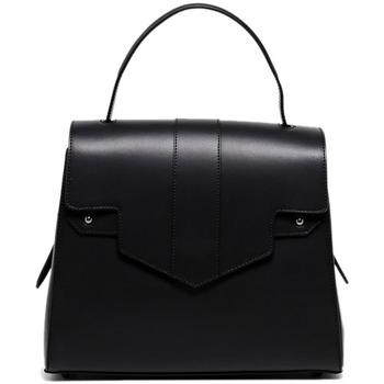 Tassen Dames Handtassen kort hengsel Maison Heritage LENI NOIR