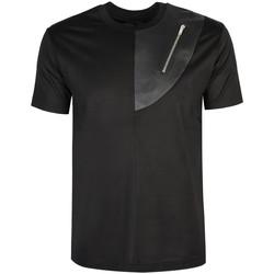 Textiel Heren T-shirts korte mouwen Les Hommes  Zwart