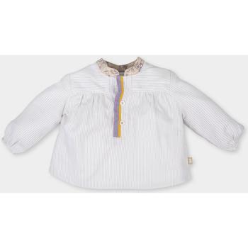Textiel Meisjes Tops / Blousjes Tutto Piccolo Blouse  m / long Beige