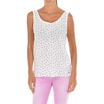 Textiel Dames Tops / Blousjes Armani jeans Blouse Multicolour