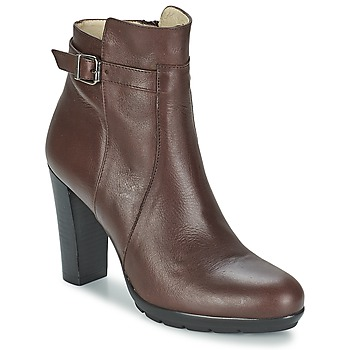 Schoenen Dames Enkellaarzen Betty London ARIZONA Brown