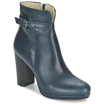 Schoenen Dames Enkellaarzen Betty London GRAZI Blauw