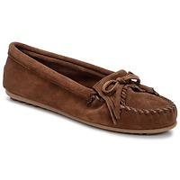 Schoenen Dames Mocassins Minnetonka KILTY Brown / Donker