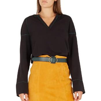 Textiel Dames T-shirts met lange mouwen Vila  Zwart