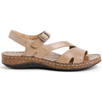 Schoenen Dames Sandalen / Open schoenen Walk & Fly 3861-35580 Beige
