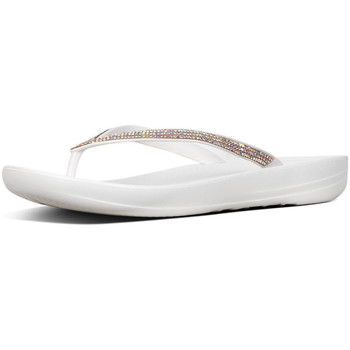 Schoenen Dames Slippers FitFlop Iqushion Sparkle TPU WIT