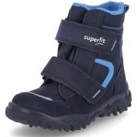 Schoenen Jongens Snowboots Superfit Husky 1 Bleu