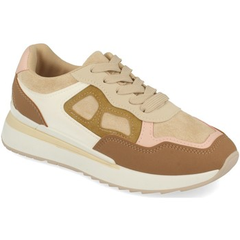 Schoenen Dames Lage sneakers Tephani TF22111 Beige