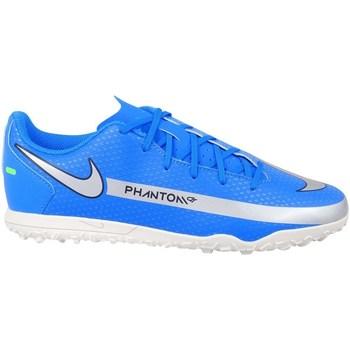 Schoenen Jongens Voetbal Nike Phantom GT Club TF JR Bleu