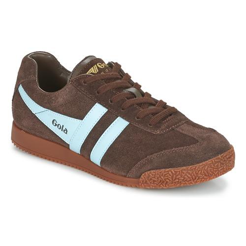 Schoenen Heren Lage sneakers Gola HARRIER Brown / Blauw