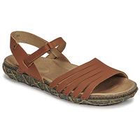Schoenen Dames Sandalen / Open schoenen El Naturalista SOFT Brown