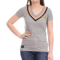 Textiel Dames T-shirts korte mouwen Asics  Grijs