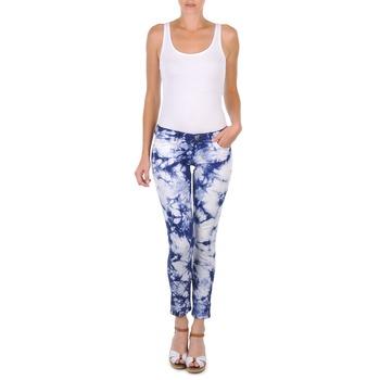 Textiel Dames Korte broeken Cimarron CLARA TIE DYE Blauw