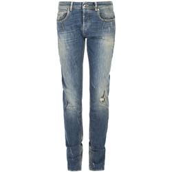 Textiel Heren Skinny jeans Les Hommes  Blauw
