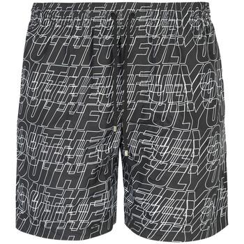 Textiel Heren Zwembroeken/ Zwemshorts Les Hommes  Zwart
