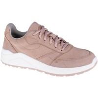 Schoenen Dames Lage sneakers 4F OBDL250 Blanc, Rose