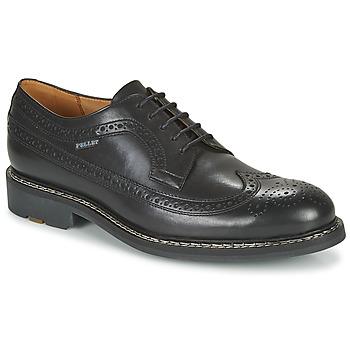Schoenen Heren Derby Pellet NORMAN Zwart