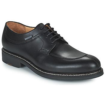 Schoenen Heren Derby Pellet Magellan Zwart