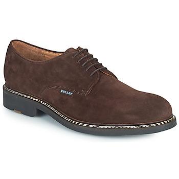 Schoenen Heren Derby Pellet Nautilus Brown