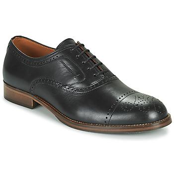 Schoenen Heren Derby Pellet ABEL Zwart