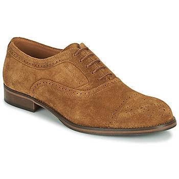 Schoenen Heren Derby Pellet ABEL Brown