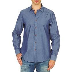 Textiel Heren Overhemden lange mouwen Ben Sherman BEMA00490 Blauw