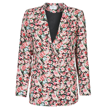 Textiel Dames Jasjes / Blazers Betty London OBIMBA Zwart / Roze