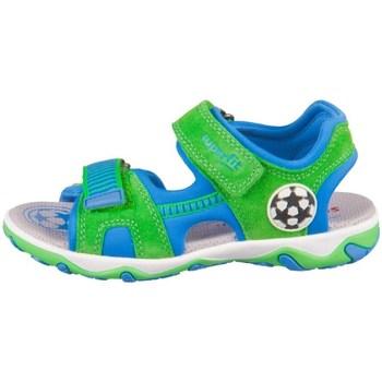 Schoenen Jongens Sandalen / Open schoenen Superfit Mike 30 Vert, Bleu