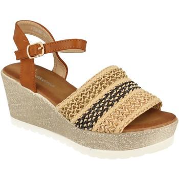 Schoenen Dames Sandalen / Open schoenen Festissimo F20-55 Camel