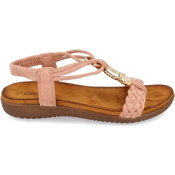 Schoenen Dames Sandalen / Open schoenen Clowse VR1-261 Rosa