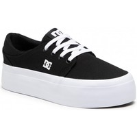 Schoenen Dames Sneakers DC Shoes Trase Platform Zwart