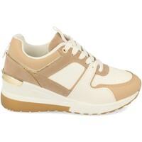 Schoenen Dames Lage sneakers Buonarotti 1CD-1094 Camel