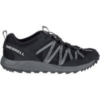 Schoenen Heren Lage sneakers Merrell Wildwood Aerosport Gris, Graphite
