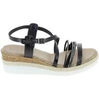 Schoenen Dames Sandalen / Open schoenen Porronet Sandale F12632 Noir Zwart