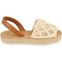 Schoenen Dames Sandalen / Open schoenen Milaya 3S16 Beige