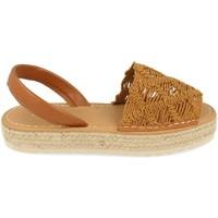 Schoenen Dames Sandalen / Open schoenen Milaya 3S16 Camel
