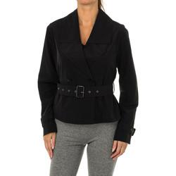 Textiel Dames Jacks / Blazers Armani jeans Veste en jean Armani Zwart